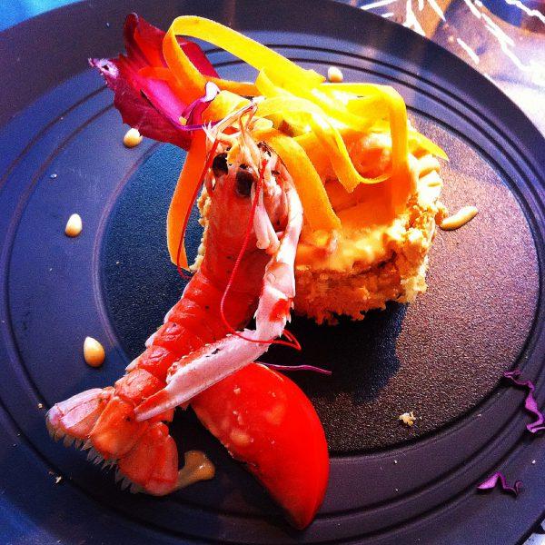 Diner gastronomique restaurant l'Equinoxe de la Tranche sur Mer
