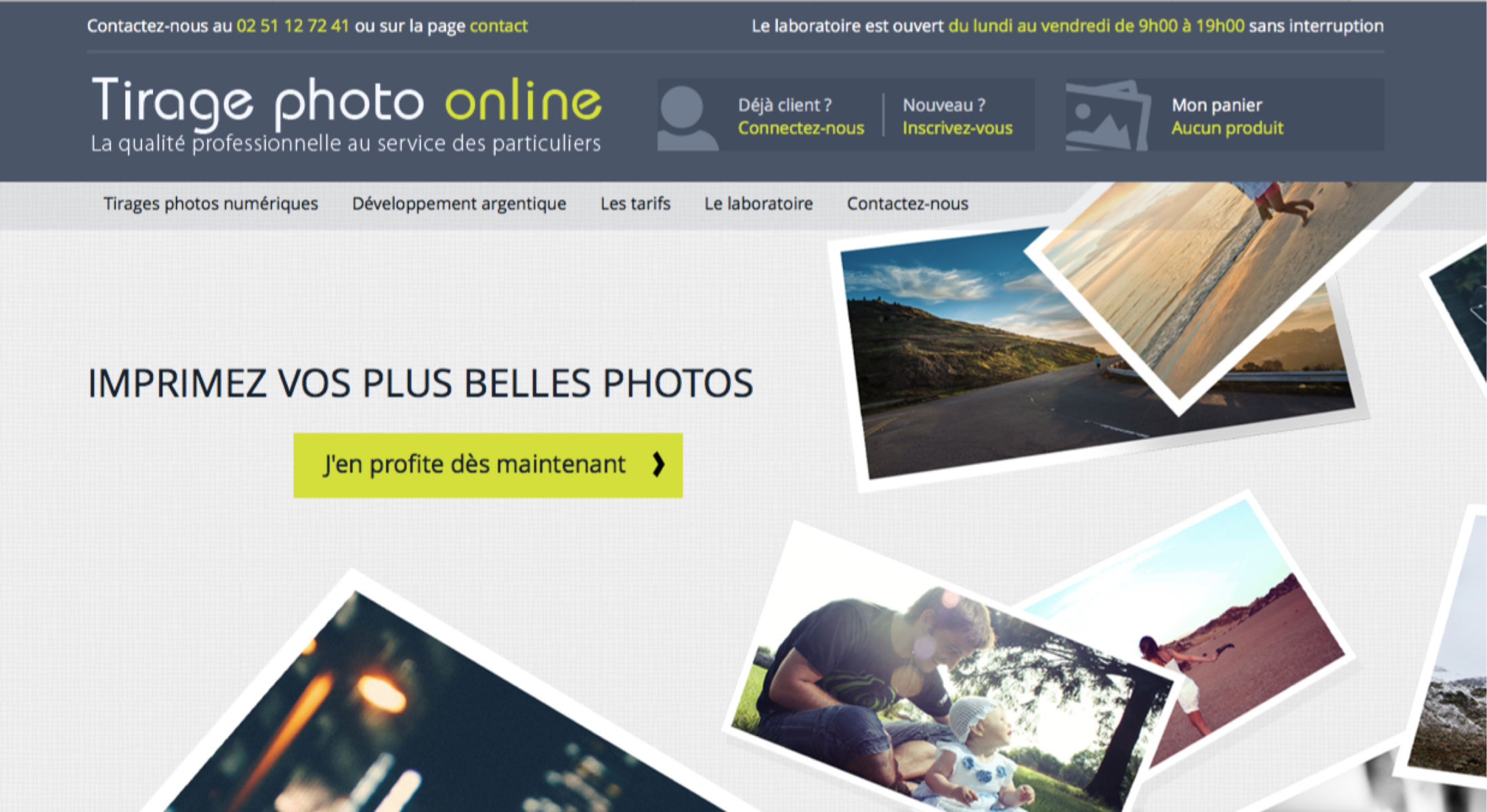 Tirage photo online