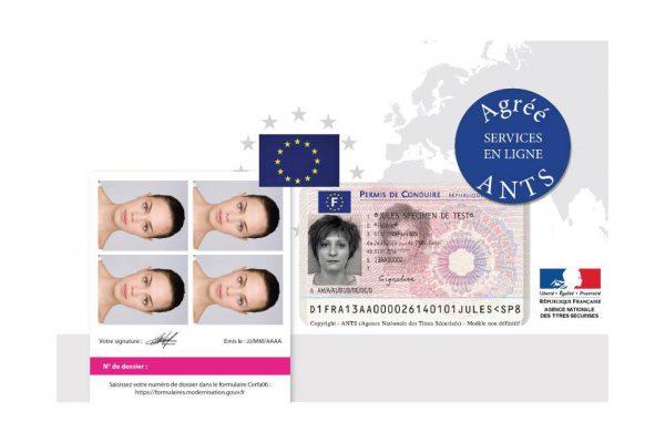 Identité ANTS permis de-conduire