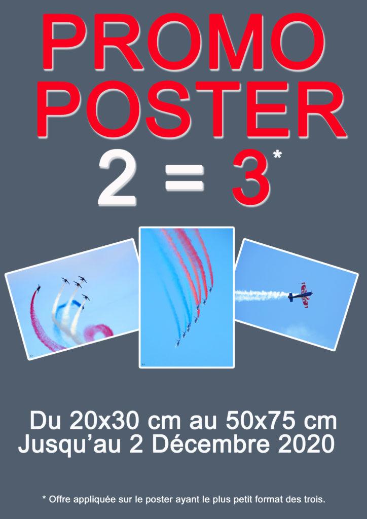 Promo sur les posters